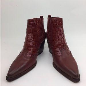 Sam Edelman Winona Leather Bootie sz 8